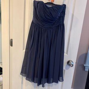 Azazie Katie Bridesmaid Dress - Stormy